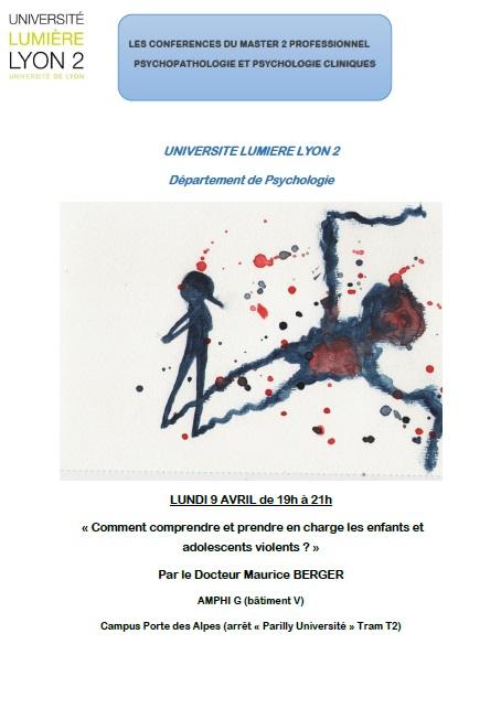 Conférence Maurice BERGER 09-04-2018